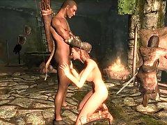 Filmy amatorskie perypetie uniknął skyrim slavegirl 13