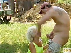 Gole stare cipy perwersyjne sex z babcia