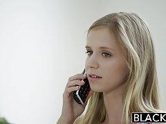 Zaciemnione laski foto drobna Blondynka Nastolatka rachel james pierwszy duży czarny kutas