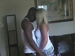 Pt erotyczne fotki Blondynka busty żona i jej czarnego byka