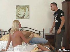 Mąż łapie jego żona kurwa z kochankiem