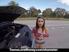TeensLoveMoney sex fotki lasek - Cycata Laska dostaje holowane, fucked i zapłacone!